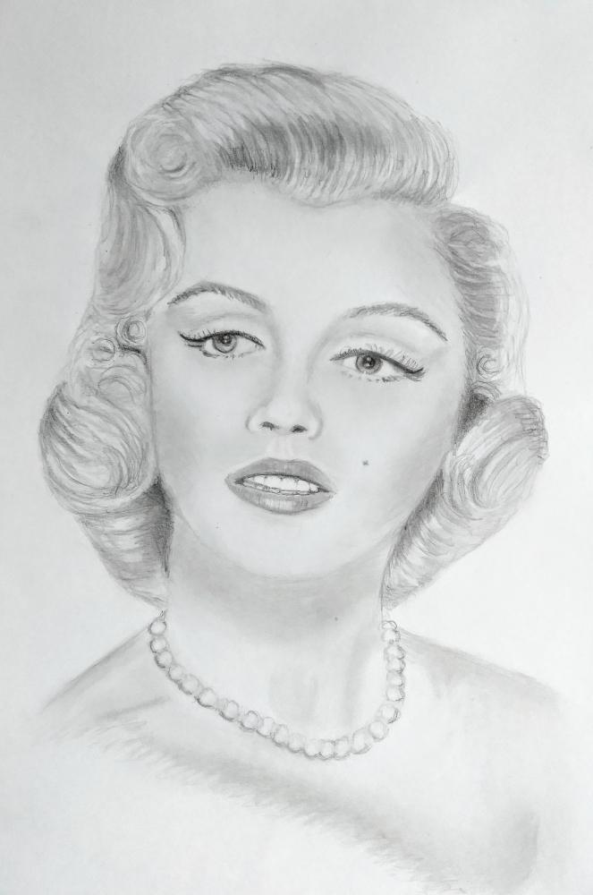Marilyn Monroe by paulb